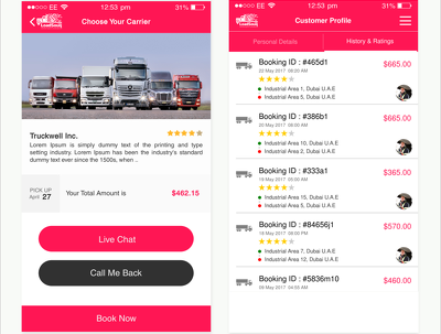 Design & Develop Logistics website
