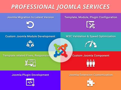 Joomla Services, Bug fixing | Customization | Maintenance