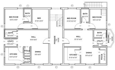 Design architectural floor plan