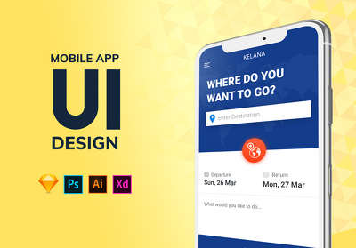 Design high-end mobile app UI/UX for Android & IOS