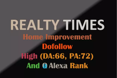 Do Realtytimes.com _ Realtytimes Home Improvement Guest Post