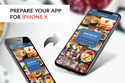 Make your app iPhone X compatible