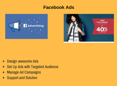 Design and optimize Facebook Ads and Ad Campaign
