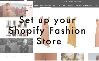 Set up your fashion e-commerce store on Shopify