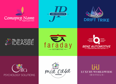 Design a professional, trendy & creative logo for your business