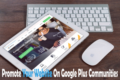 Promote Your Website On Google Plus Communities