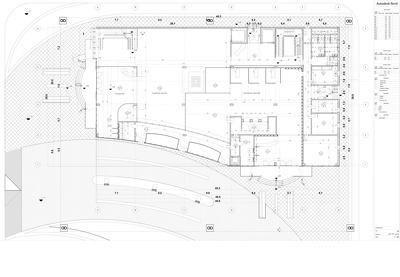 Design and create 2D drawing Revit or Autocad