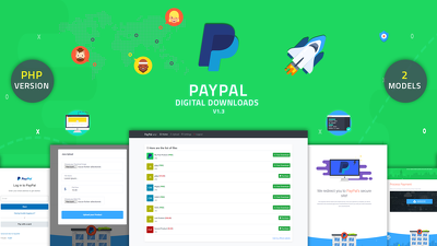 Plug & Play WebApp for accepting paypal payments