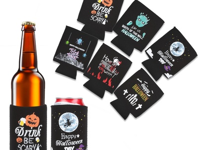 Design your beer bottle can cooler