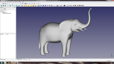 Do printable 3D model (part or figurine)