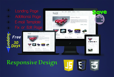 Convert any type of files to Responsive HTML web page.......
