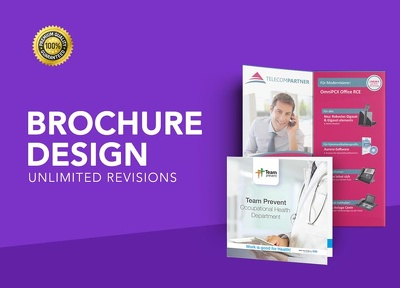 Design an affordable brochure/bifold/trifold ready to print