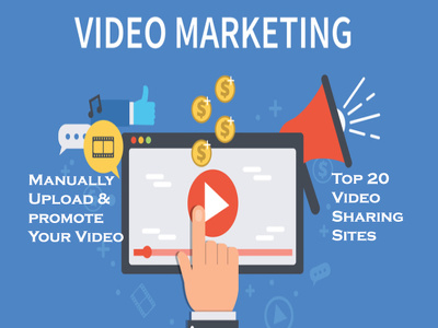 Manually Upload & promote Your Video Top 20 Video Sharing Sites