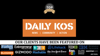 Guest post on Daily Kos DailyKos DailyKos.com DA 90 dofollow