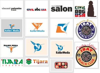 Design 5 Premium Logo concepts + Stationery + Social Media Kit
