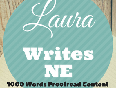 Proofread 1000 words of your content