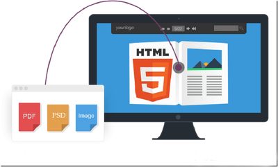 Convert one page psd to html responsive