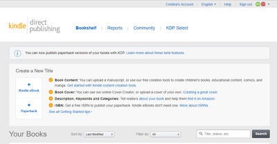 Convert your Word document into Kindle format