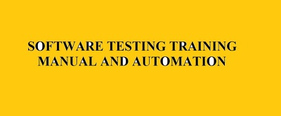 Give Professional Training for Software Testing
