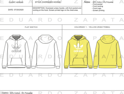 Create a techpack for garment production
