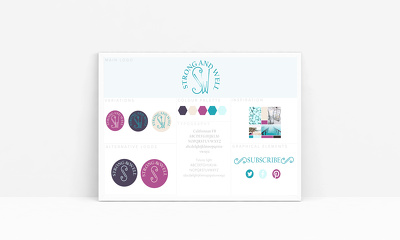 Create a branding identity for your business +logo+business card