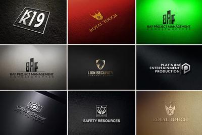 Make 3  unique logo concept   with 15 revisions