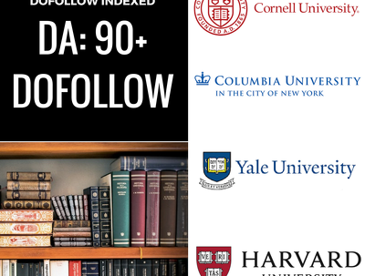 Cornell/Harvard/Yale/Columbia EDU Guest post Dofollow Indexed