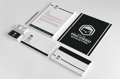 Design Business Card, Letterhead,And Stationary Branding