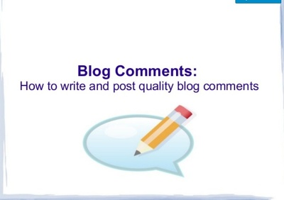 Do 7 Niche Relevant Blog Commenting With Obl Less Than 20