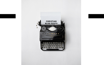 Write and edit your Christian blog content