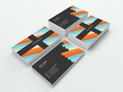Design two sided business card for your company