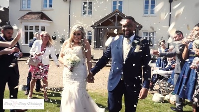 Film your wedding video covering from 6 hours from £695