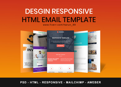 Convert PSD to Responsive Email tempalte
