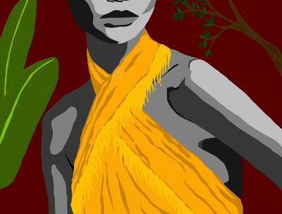 Create a custom abstract portrait or art piece