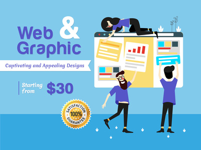 Web and Graphic Design Solutions (UNLIMITED REVISIONS)
