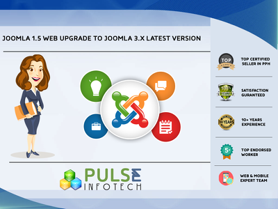 Upgrade your joomla 1.5 Website to joomla 3.x