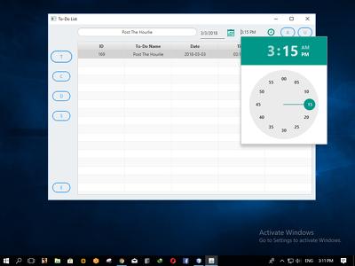 Build you a smart desktop to-do reminder