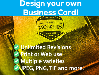Design an outstanding business card for you