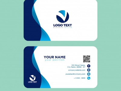 Design elegant and professional business/visiting card