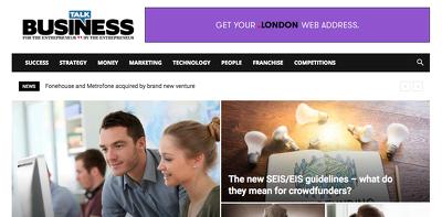 Publish a guest post on Talk-Business.co.uk DA73, PA53