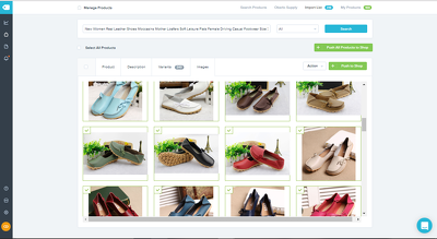 Be your Product entry Specialist in Shopify with Oberlo App.