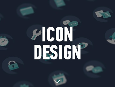 Design professional flat icon set