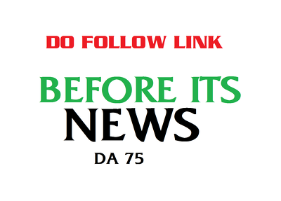Guest post on BeforeitsNews Dofollow Link