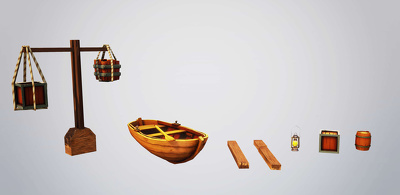 Create beautiful 3D models for your projects/games! (low poly)