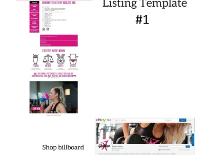 Create an eBay listing template fully mobile responsive for 2018