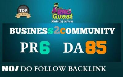 Publish a Guest Post on Business2Community.com