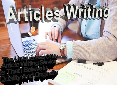 Write Blog, Article Or Website Content up to 500 words