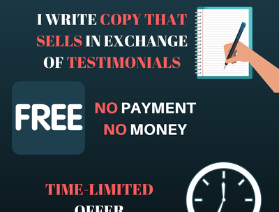Write you copy for one landing page - for testimonial