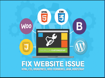 Fix Your Html, Css, Wordpress, Woocommerce Issue