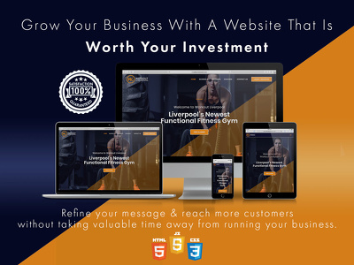 Design a high converting fully responsive & SEO friendly website
